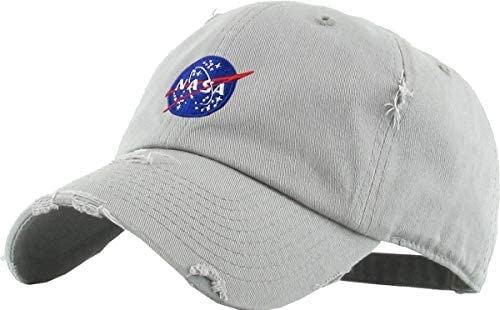 Vintage NASA Insignia Dad Hat Collection Baseball Cap Polo Style Adjustable Worm