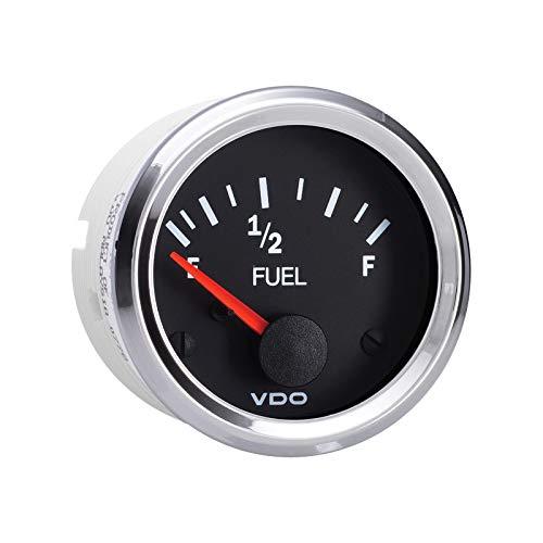(Vdo Instruments Semi Truck Electrical Fuel Level Gauge Vision Chrome)