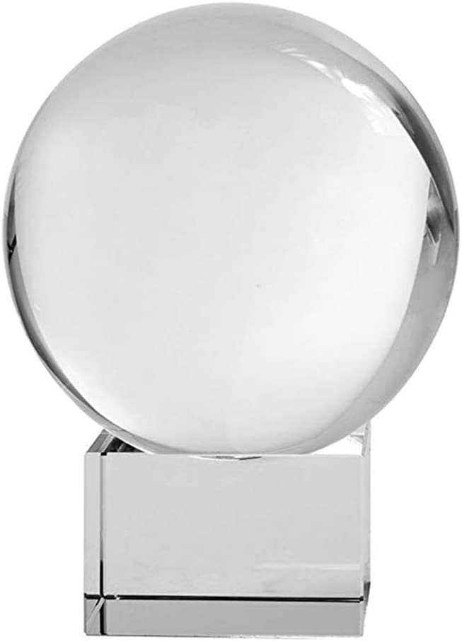 Sphere Puzzle Balls Square Crystal Ball Stand Round Balls Display Stand Holder for 2.75-3.15 inches 70-80mm