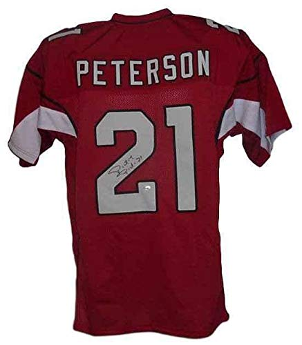 (Signed Patrick Peterson Jersey - Red Size Xl 12733 - Autographed NFL Jerseys)