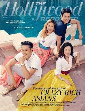 The Hollywood Reporter Magazine (August 1, 2018) Crazy Rich Asians Cover