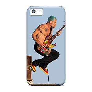 Iphone 5c IxM7244cusU Customized High Resolution Red Hot Chili Peppers Skin Shock Absorbent Hard Phone Cover -CharlesPoirier