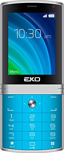 EKO NEX Unlocked GSM 2G Candy Bar Cell Phone Dual Sim Front