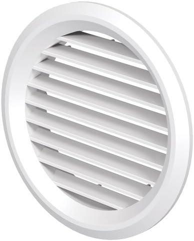 Rejilla de ventilación 125err Blanco con Red: Amazon.es: Grandes electrodomésticos