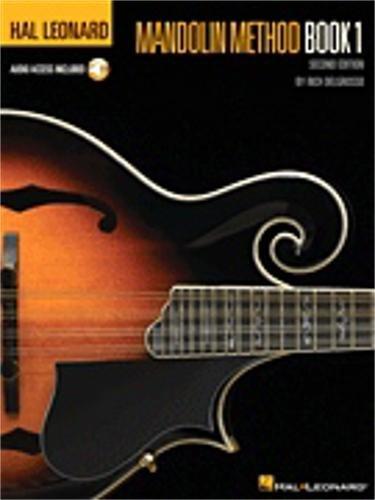 Hal Leonard Hal Leonard Mandolin Method Book 1-Audio Online - TAB-2ND ED.