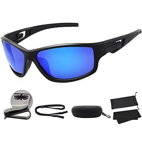10e5e50e010 MAXJULI Polarized Sports Sunglasses for Men Women Tr90 Frame for Running  Fishing Baseball Driving MJ8013