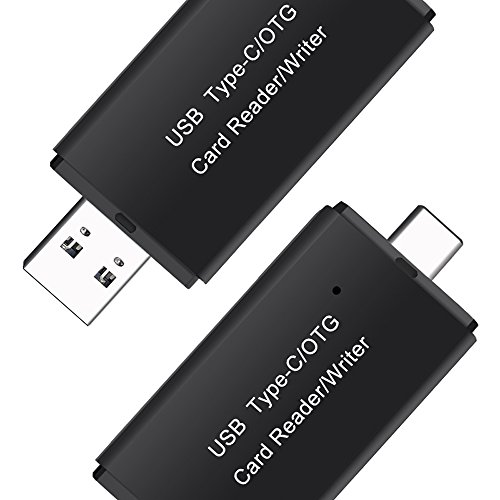 SD Card Reader, 6amLifestyle 2-in-1 USB 3.0 / Type C Digital Super Speed Multi-Card Reader OTG Adapter for SDXC, SDHC, SD, MMC, RS-MMC, Micro SDXC, Micro SD, Micro SDHC Card and UHS-I Cards by 6amLifestyle (Image #1)
