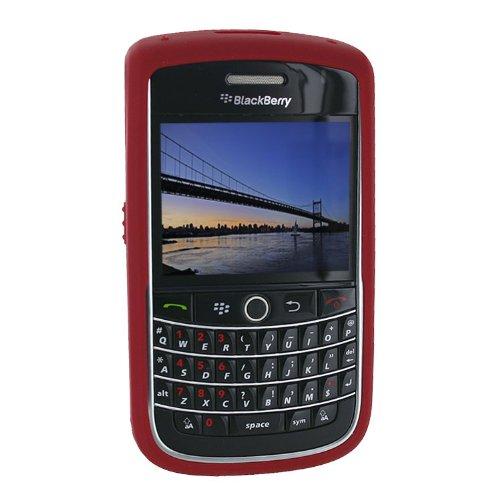 BlackBerry 9630 Skin Cover Case (Dark (Blackberry Rubberized Skin)