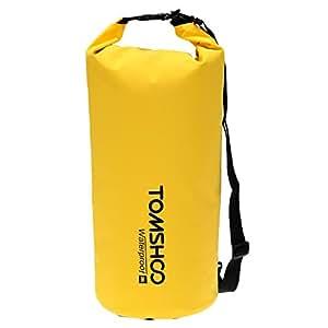 TOMSHOO 10L / 20L Outdoor Waterproof Dry Bag Sack Gear Storage Bag for Travelling Rafting Boating Kayaking Canoeing Camping Snowboarding