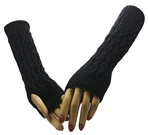 Grey Vineyard Arm Warmer Gloves