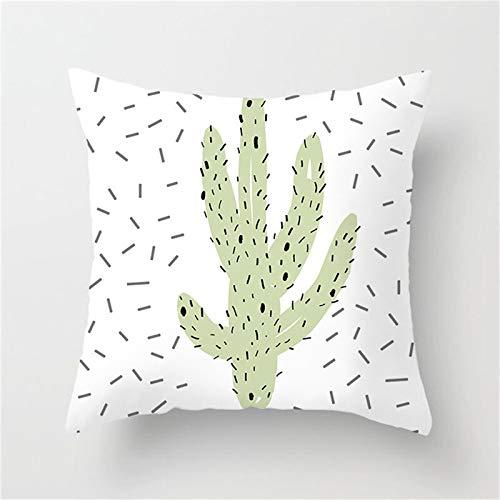 XUBF-pads, Plantas Tropicales Funda de cojín Cactus Desert ...