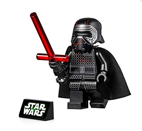 LEGO Star Wars The Rise of Skywalker Minifigure - Supreme Leader Kylo Ren (with Lightsaber and Stand) 75256