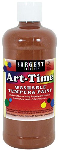 tempera paint brown - 7
