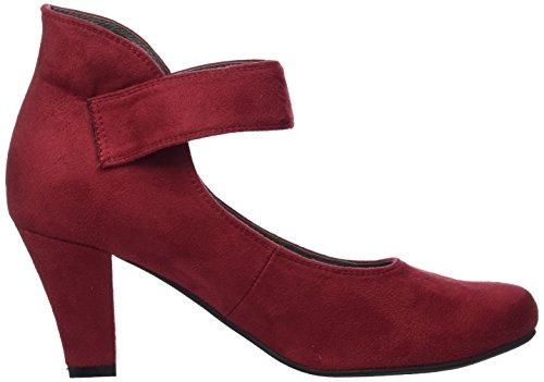 Femme 3004535 Bout Rouge Escarpins Fermé Hirschkogel Bordo 024 qwTHIdqB