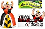 Disney Villains Exclusive PVC Figure Alice in Wonderland - Queen of Hearts