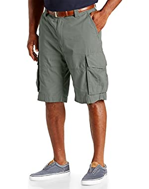Big Mens Ripstop Cargo Short