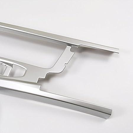 ABS pl/ástico negro//plata Interieur Medio Consola w/ähl palanca freno de mano bot/ón Interieur listones 2 unidades para XC60 2018 2019