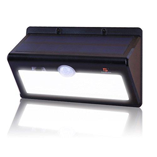 Best outdoor motion sensor lighting amazon pomelo best motion sensor solar wall light 26 leds workwithnaturefo