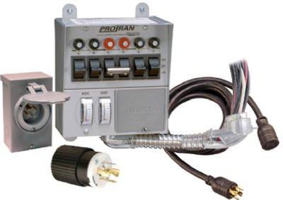 Reliance Controls Generator Power Transfer Kit 30 Amp Boxed