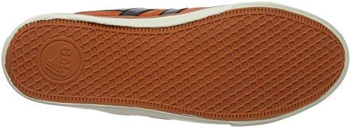 Gola Heren Comet Plimsoll Sneakers | Humeurig Oranje / Zwart - 13