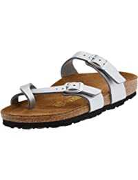 Women's Mayari Sandal,Silver,40 EU/9-9.5 N US