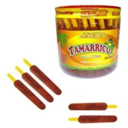 Flautirriko Tarugos Tamarindo Tamarind Candy Sticks 50 Pcs 550g Always Fresh