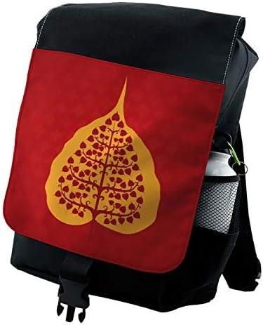 Amazon.com: Ambesonne Leaf Backpack, Bodhi Tree Yoga ...