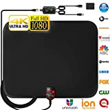 [Newest 2019] Amplified HD Digital TV Antenna Long 120 Miles Range - Support