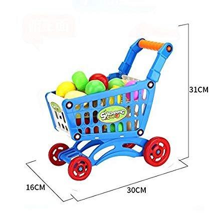 MI Supermercado de simulación para niños carro carro juguetes bebé juguetes educativos para niños