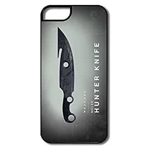 Keke Custom Geek Case Destiny Weapons Melee Hunter Knife For IPhone 5/5s hjbrhga1544