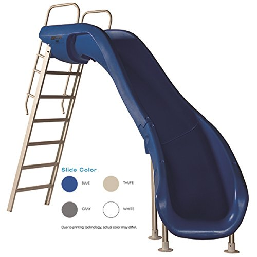 S.R. Smith 610-209-5812 Rogue2 Pool Slide, Right Curve, White