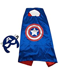 Superhero and Princess Cape and Mask Sets, Great for Dressing Up