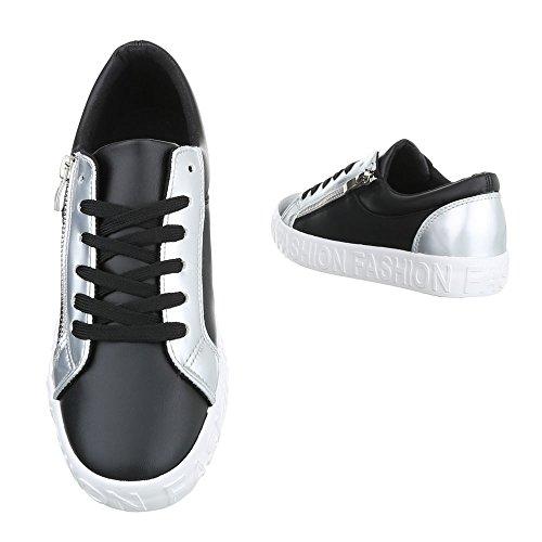 Damen Schuhe Stiefeletten designer Chelsea Boots Freizeitschuhe 3eth Silber 38