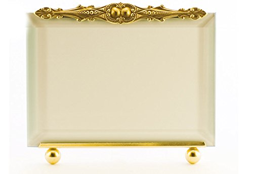 La Paris Renaissance Design 8 x 10 Inch Brass Picture Frame - Horizontal by La Paris