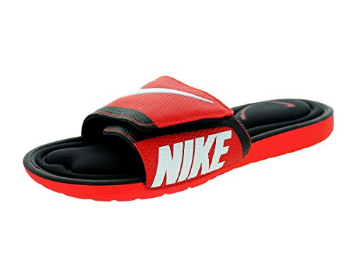 White sandalo SolarSoft Black Red Challenge Slide Nike comfort qYx6Tct