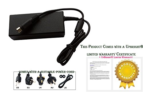UpBright NEW 4-Pin DIN Global AC/DC Adapter For Seagate 9W2074-500 ST3160024ARK ST3160024A-RK 9W2074500 External Hard Disk Drive HDD HD 5V 12V 1.5A - 2A Power Supply Cord Cable Charger 4 Prong PSU by UPBRIGHT (Image #1)