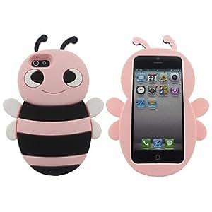MOFY-Bee Pink Soft Case para iPhone 5/5S , Rosado