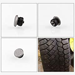 100 X Durable Vehicles Off Road Tires 12mm Tires Snow Chains Nails The new style screw on the tire bolts can be easily installed and removed without professional tools It can also be disassembled according to the reason, when it is not in use...