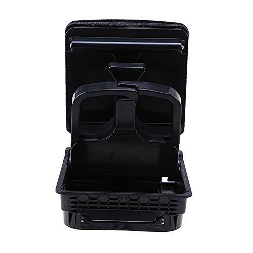 Amazon.com: elegantstunning Auto Central Console Armrest Rear Cup Holder Seat Gap Cup/Mobile Phone Holder Storage Pocket Box Black For VW Jetta MK5 MK6, ...