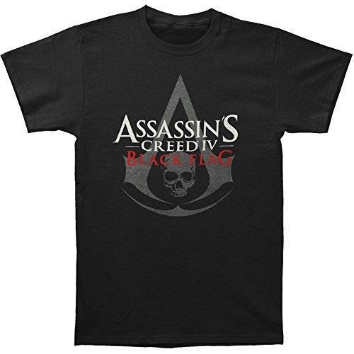 Assassin's Creed Men's IV Black Flag T-Shirt Medium Black