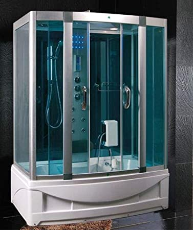 Baño Italia cabina hidromasaje con bañera 150 x 90 cm Full ...