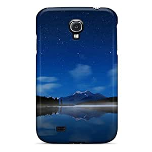 Mimorton Premium Protective Hard Case For Galaxy S4- Nice Design - Beautiful Lake