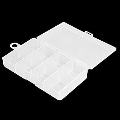 Transparent Plastic Fishing Lure Bait Tackle Box Containers