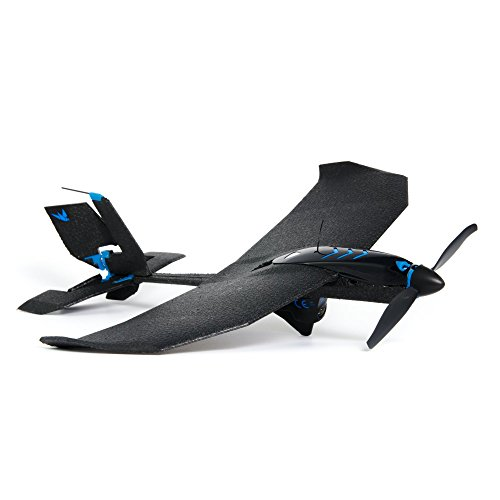 Review SmartPlane Pro FPV – Smartphone Controlled VR plane – remote controlled drone for iOS & Android with joystick, rc plane for beginners, adults, kids, very durable, crash-proof