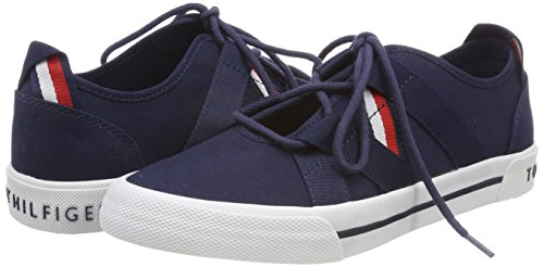 Tommy Hilfiger Heritage Open Lace Up Sneaker, Sneakers Basses Femme