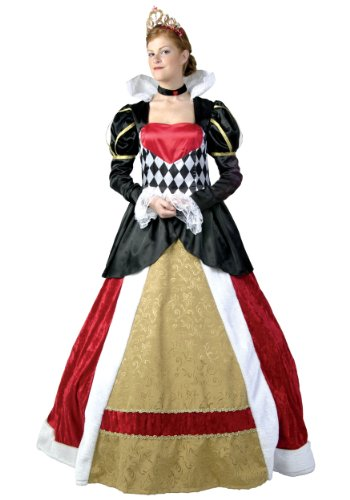 Plus Size Elite Queen of Hearts Costume 2X (Mileena Costume)