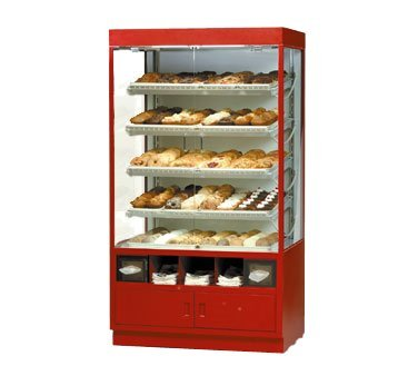 (Federal Industries Specialty Display Non-Refrigerated Self-Serve Full Pan Bakery Case, 42