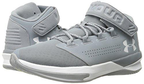 Under UA de B Steel White Basketball Get Armour Chaussures Zee White Homme aBrwaAgq