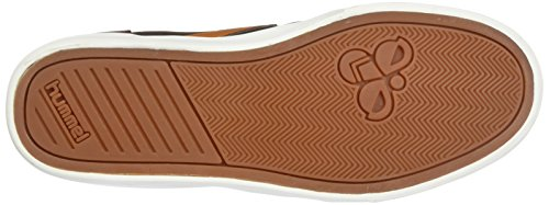 Hummel Unisex Adults' Slimmer Stadil Duo Oiled High Hi-Top Sneakers Brown (Chestnut) discount cost release dates for sale for sale cheap price 7aiMH
