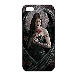 Iphone 5 5s SE Shell Case Classical Creative Angel Wings Custom Delicate 3D Anti-Scratch Flexible Phone Case for Iphone 5 5s SE